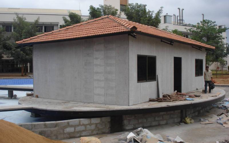 eps cement sandwich panel,prefabricated house,modular house,steel structure warehouse