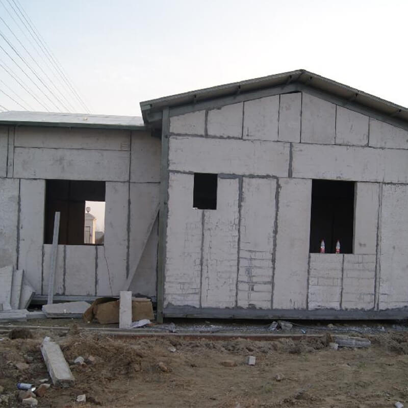 Anti-wind And Fire Resistant Eps Cement Sandwich Panels for