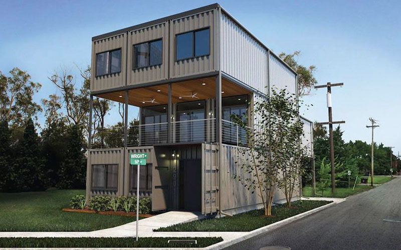 Container House Widely Used In