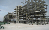 Qatar Shopping Center High Rise Steel Structure Project