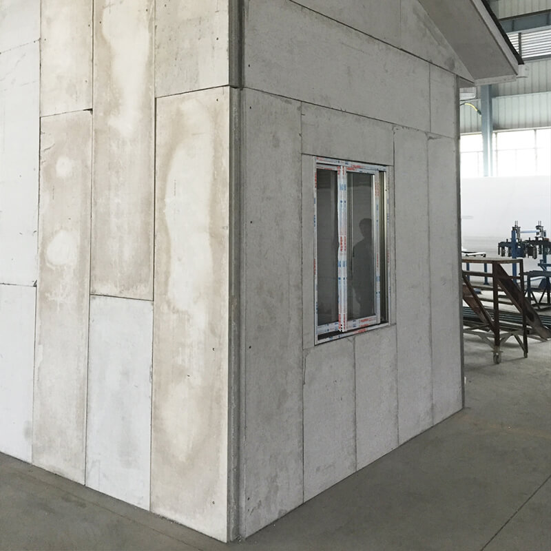 Anti-wind And Fire Resistant Eps Cement Sandwich Panels for Interior And Exterior Walls of Buildings
