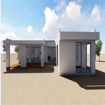 Super Durable Prefabricated House for Carport Kiosk Temporary Residence