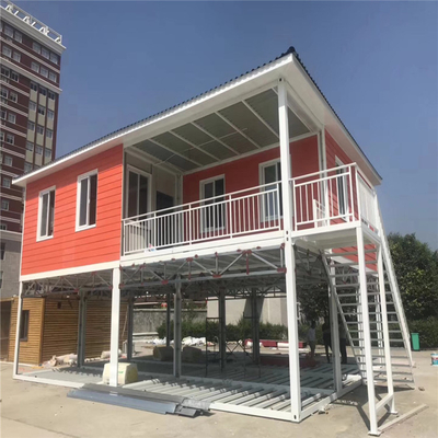 Customizable Container House For Camp Shockproof Eps Sandwich Panel House