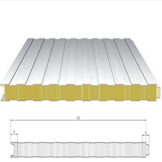 Factory Cheapest Price PU/PIR Polyurethane Roof Sandwich Panel 20mm Roof
