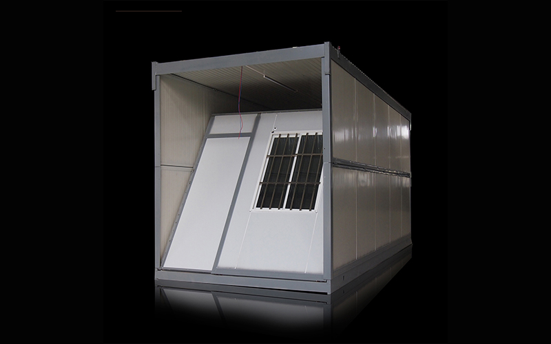 Ready Made Prefabricated Folding 20FT Foldable Container House