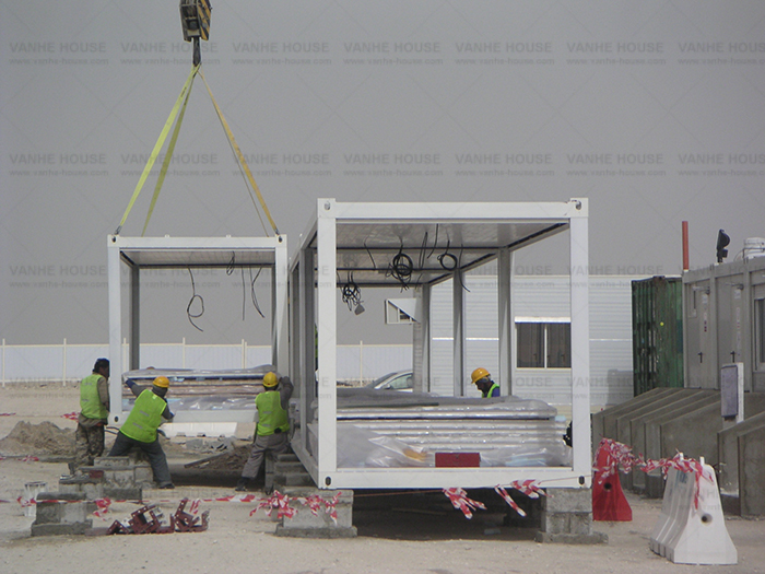 Container House Project in Qatar