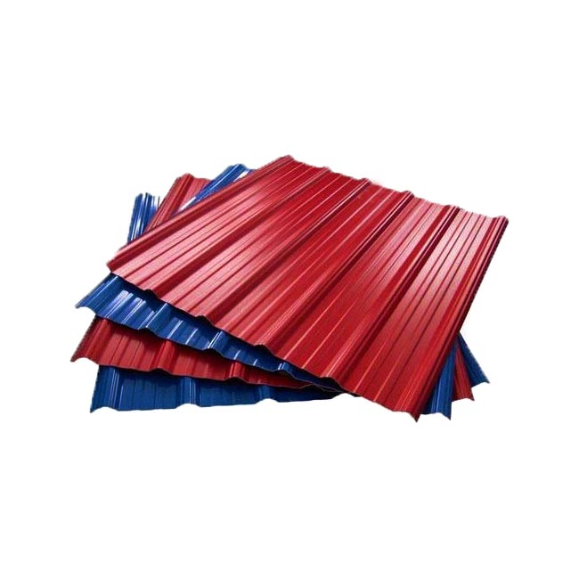 Color Coated Galvanized Steel Sheet Pile Corrugated Metal Roofing Sheet PPGI Sheet