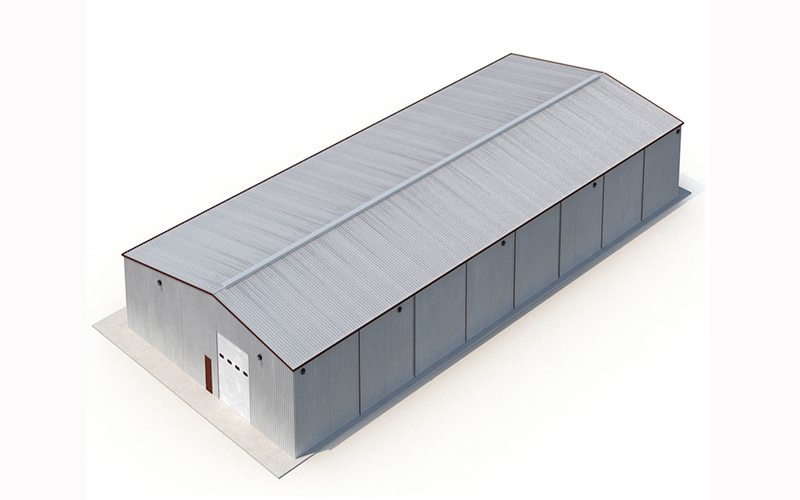 Industrial Factory Prefab Warehouse Workshop Building Light Steel Structure