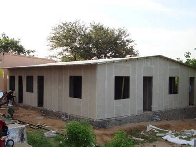 Customizable Prefabricated Houses For Living Modular Eps Cement Houses