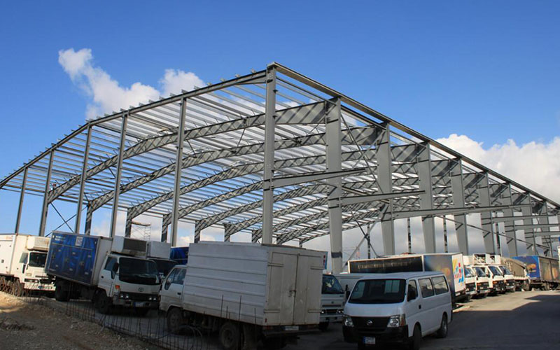 Extension of Steel Structure Warehouse